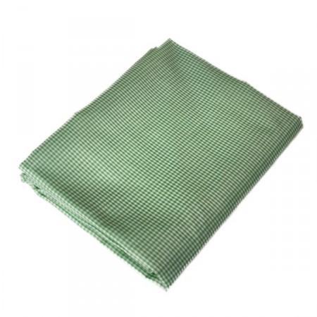 Tissu Vichy vert - Larg. 150cm - coupe de 2m