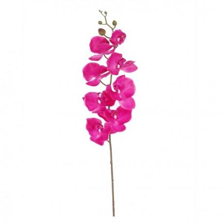 Branche d'orchidée 96 cm (fleurs artificielles sur 45 cm)