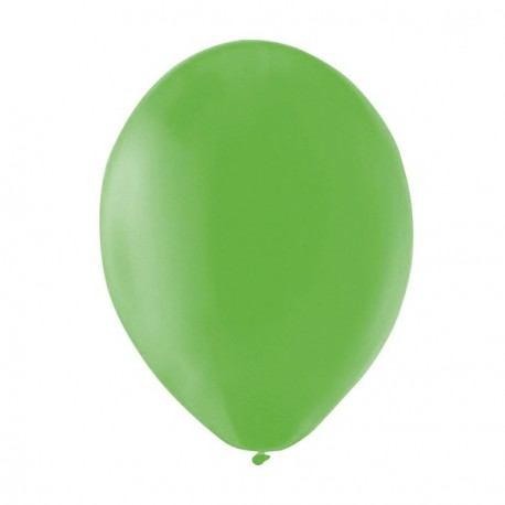 Ballons verts x 12 - Diam. 29cm