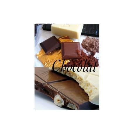 Affiche Chocolat  - 80 x 60 cm