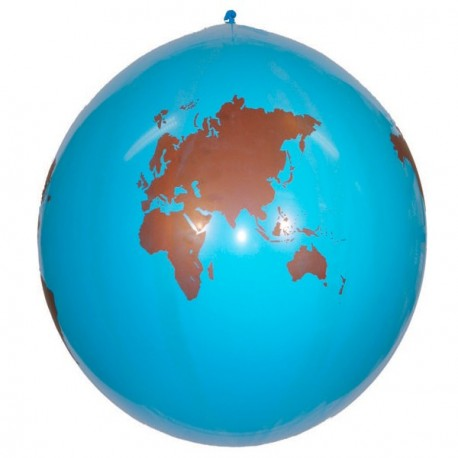 Ballon mappemonde diam 96 cm
