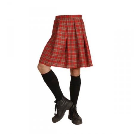 Jupe écossaise adulte - tissu*