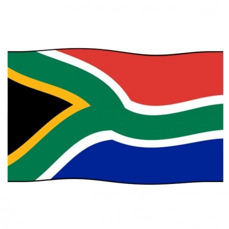 Drapeau Afrique du Sud - tissu - 90 x 150 cm