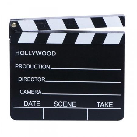 Clap de cinema 18 x 20 cm