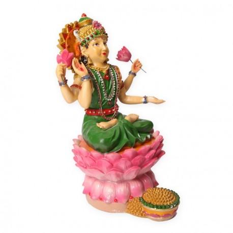Shiva aux 4 bras - résine - 21 x 21 x 30.5 cm