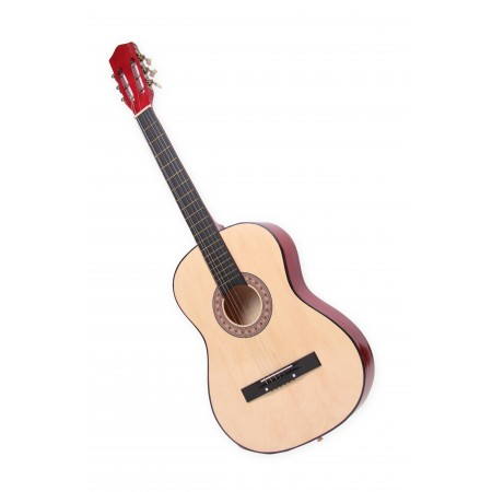 Guitare - bois naturel - H. 64cm