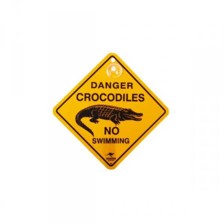 Road Sign differents visuels avec ventouse - pvc - 12 x 12 cm