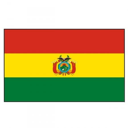 Drapeau Bolivie - tissu - 90 x 150 cm