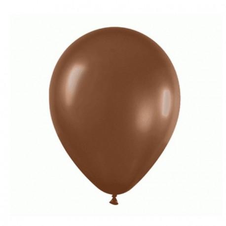 Ballons marrons x 12 - Diam. 29cm