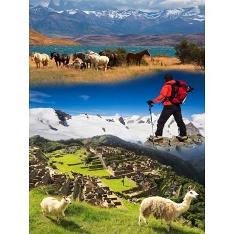 Affiche Montagnes du monde - papier - 60 x 80 cm