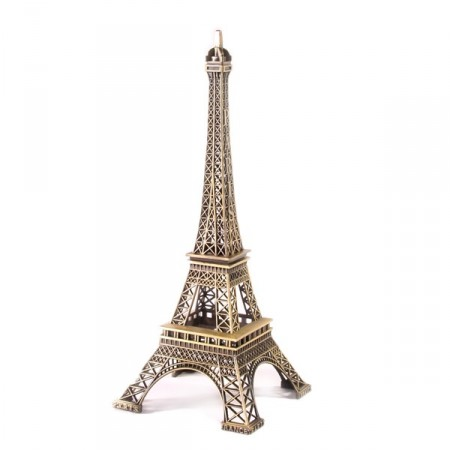 Tour Eiffel en metal - 38 cm