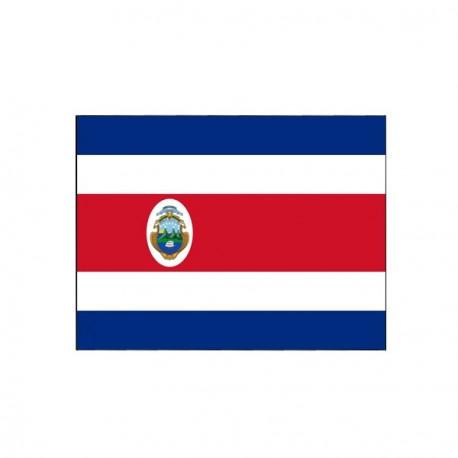 Drapeau Costa Rica - tissu - 60 X 90 cm