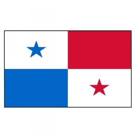 Drapeau Panama - tissu - 90 x 150 cm