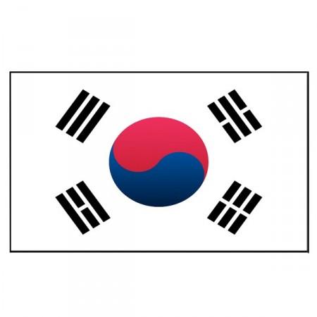 Drapeau Corée du Sud - tissu - 90 x 150cm