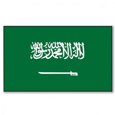 Drapeau Arabie Saoudite - tissu - 90 x 150 cm