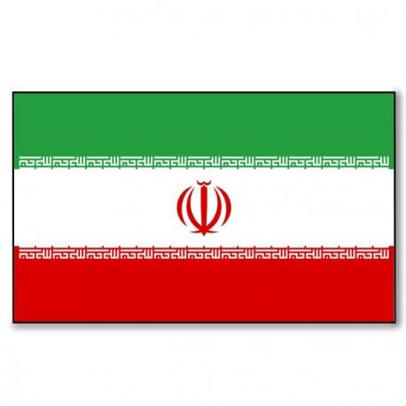 Drapeau Iran - tissu - 90 x 150 cm