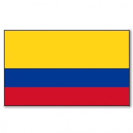 Drapeau Colombie - tissu - 90 x 150 cm