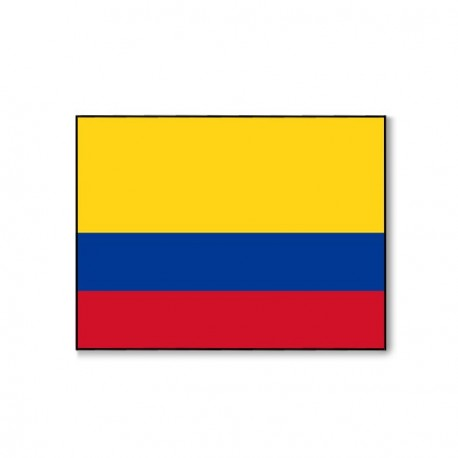 Drapeau Colombie - tissu - 60 x 90 cm