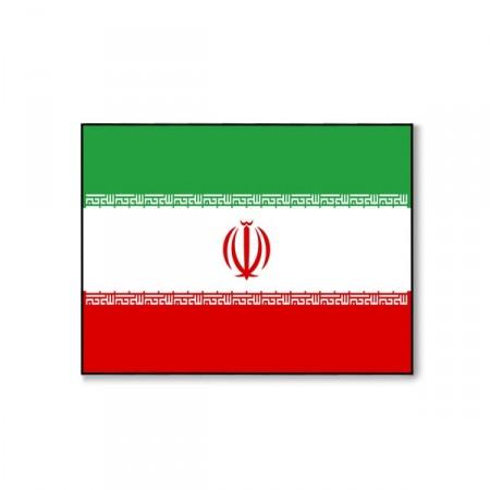 Drapeau Iran - tissu - 60 x 90 cm