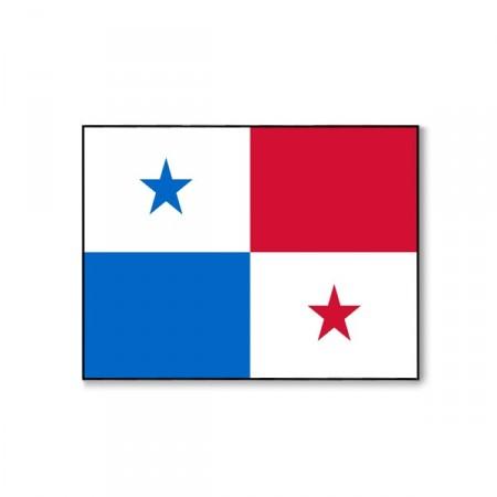 Drapeau Panama - tissu - 60 x 90 cm