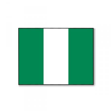 Drapeau Nigeria - tissu - 60 x 90 cm