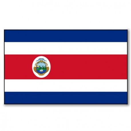 Drapeau Costa Rica - tissu - 90 X 150 cm