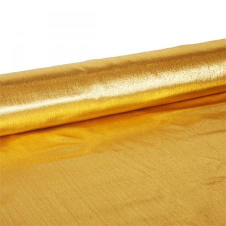 Tissu OR  - Larg. 140 cm    (vendu au mètre)