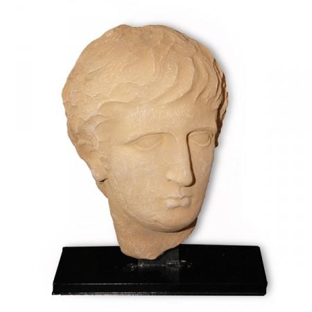 Tete antique - Résine - 30 x 24 x 15 cm
