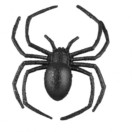 Araignée - scintillante - 18 x 12 cm