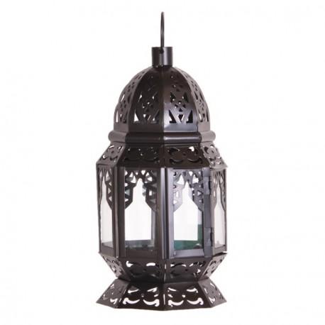 Lanterne - métal -  H. 28cm
