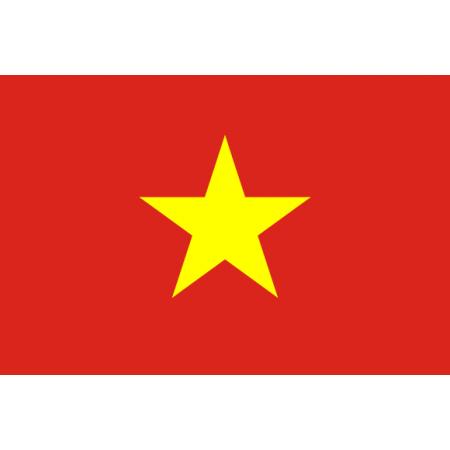Drapeau Vietnam - tissu - 60 x 90 cm