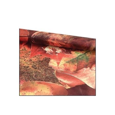 Tissu motifs Automnal - Ignifugé M1 - Larg. 150cm   (vendu au mètre)