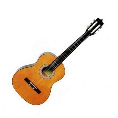 Guitare - bois naturel - H. 100cm