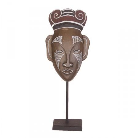 Masque sur pied  - Bois - Haut 40cm  - Différents modèles