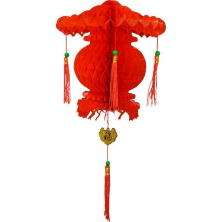 Suspension chinoise int/ext 30cm env - pvc