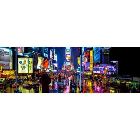Panoramique New York de 90 x 30 cm sur chevalet  -  Forex 3mm -  ignifuge M1