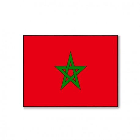 Drapeau Maroc - tissu - 60 X 90 cm