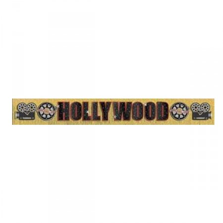 Banniere Hollywood 20 X 300cm