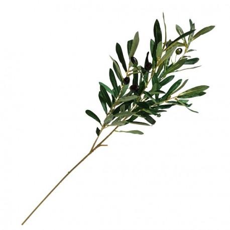 Branche d'olivier artificiel - Long. 88cm