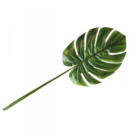 Feuille de Monstera artificiel - Long. 98cm