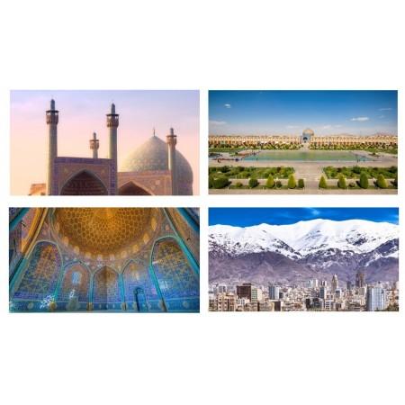 Mobiles Iran x 4 - carton - 27 x 49 cm