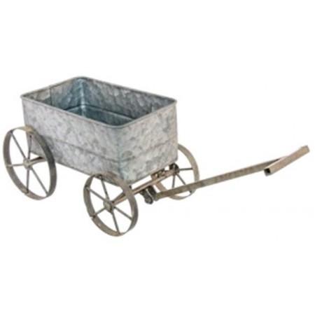 Charriot en métal 47 x 13,5x14,5 cm