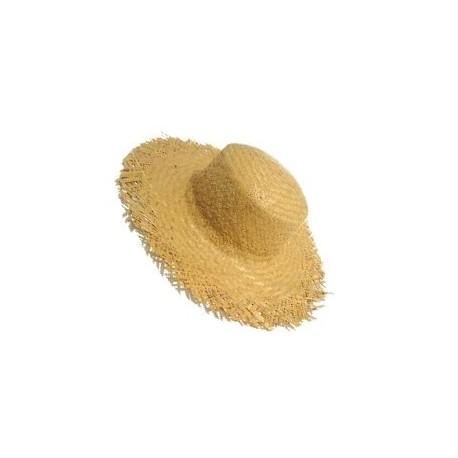 Chapeaux de jardinier en paille