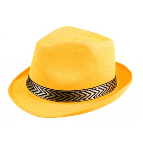 Chapeau Funky jaune