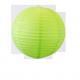 Lampion boule papier VERT – Diam 35 cm