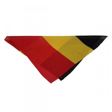 Bandana Belgique - tissu - 55 x 53cm