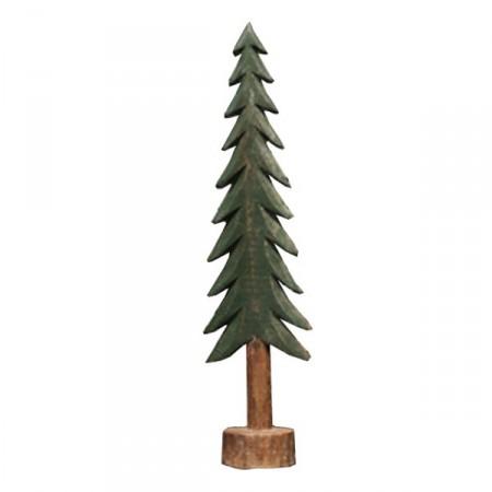 Sapin en bois - Haut 25,5cm