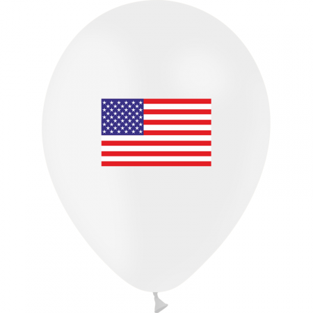 Pochette de 10 ballons USA