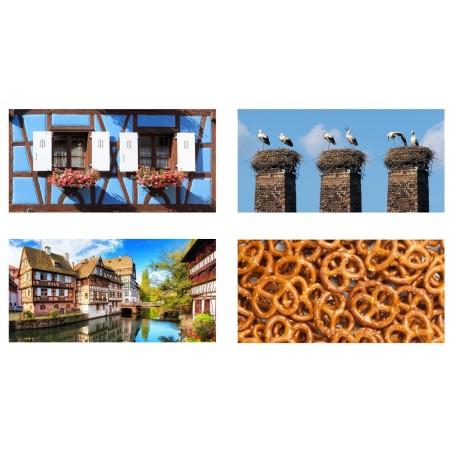 Mobiles Alsace x 4 - carton - 27 x 49 cm