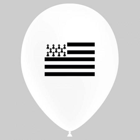 Ballons Région BRETAGNE / Diam. 29 cm - Sachet de 8
